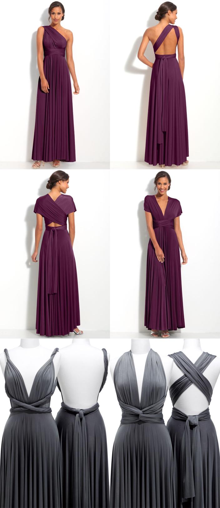 mostrando os vários modelos que dá pra fazer com esse vestido