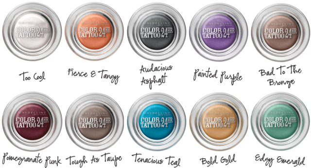 Beauty Drops | Color Tattoo Maybelline