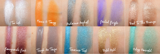 Beauty Drops | Color Tattoo Maybelline | Swatches