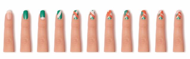 Beauty Drops | Tutorial Nail Art Unhas Tropicais Essie