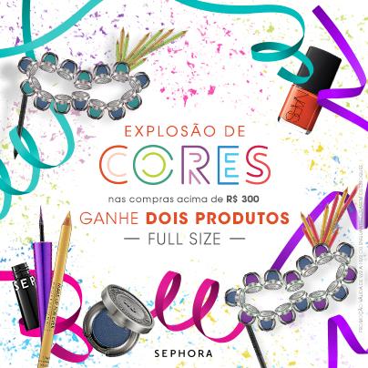 Beauty Drops | Exposão de Cores: Carnaval na Sephora