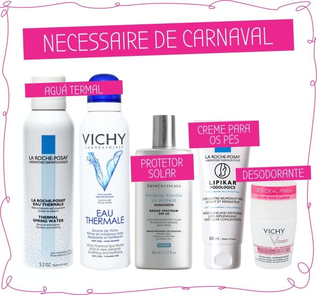 Beauty Drops | NECESSAIRE CARNAVAL | La ROche-Posay, Vichy, SkinCeuticals