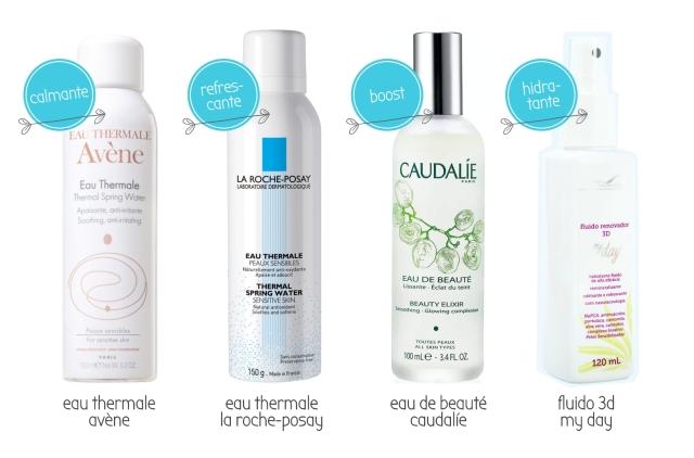 Beauty Drops | Águas/Sprays Faciais | Avéne, La ROche-Posay, Caudalíe, My Days, Spa das Sobrancelhas